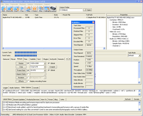 mediacoder_codificando